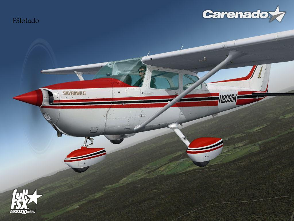 Carenado Cessna 152 Fs9 Cessna 152 Carenado Fs2004