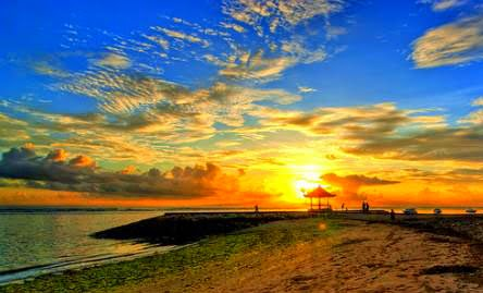 Pantai Sanur yang Eksotik