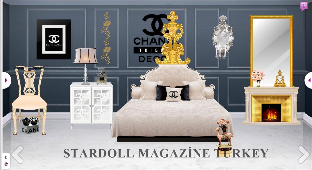 Chanel tr bute dekor stardoll magazine turkey for Dekor turkey