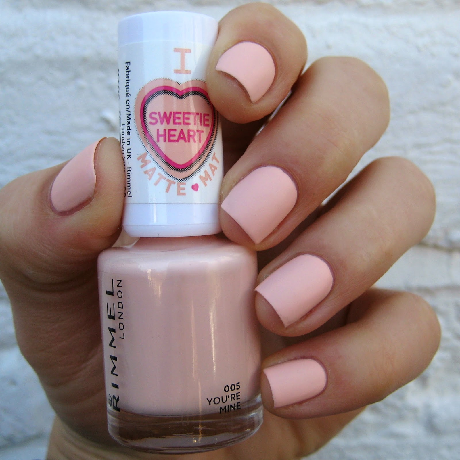 Rimmel London Sweetie Heart Matte Pastels You're Mine