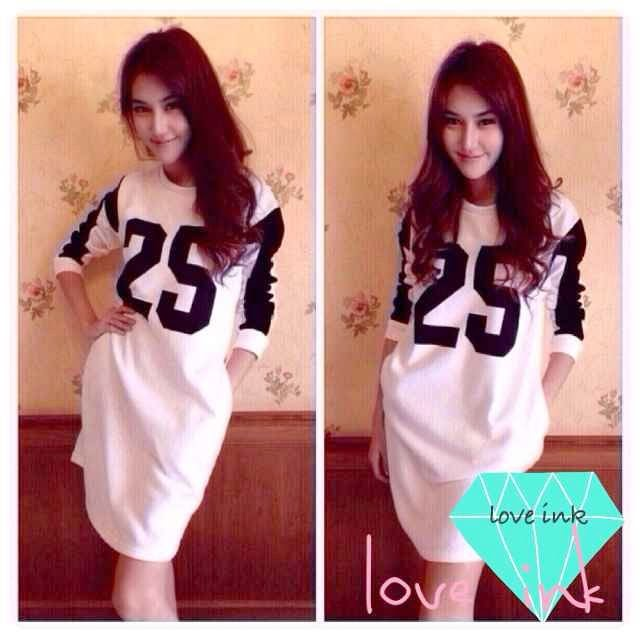 Dress LS 25 - Love Ink - Harga Saudara