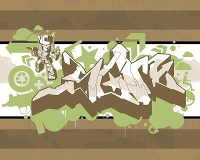 Gaffiti Art Wallpaper