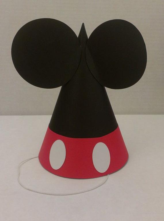 Como hacer gorros de Mickey Mouse - Imagui