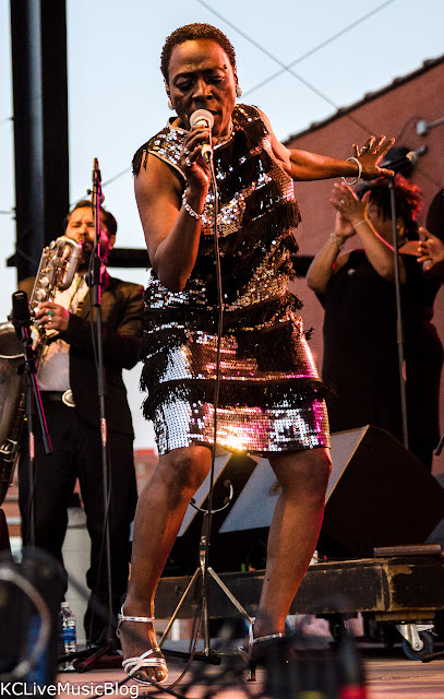 Sharon Jones and the Dap Kings at Crossroads