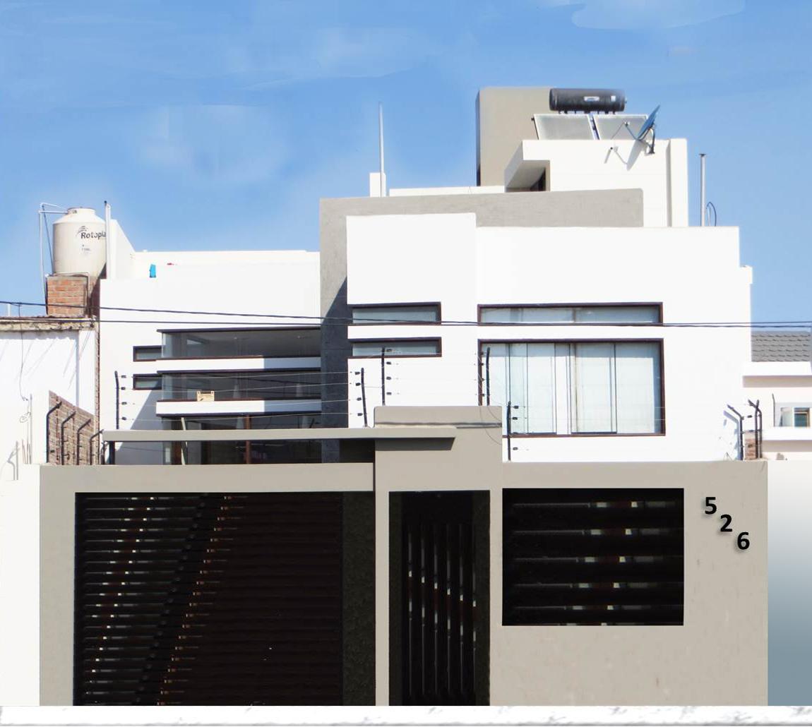 Fachadas de casas bonito dise o de fachada for Diseno de fachadas minimalistas