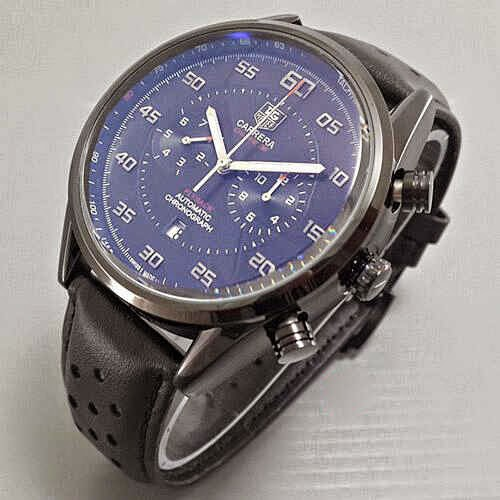 Tag Heuer Flyback hitam