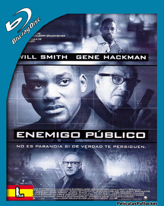 Enemigo Publico [BrRip 720p][Latino][SD-MG-1F]
