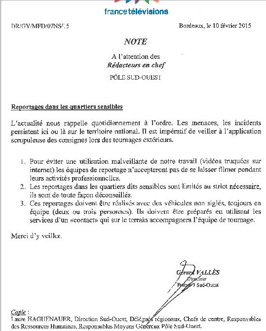 A toi l'honneur !: No-Go Zones à Bordeaux !