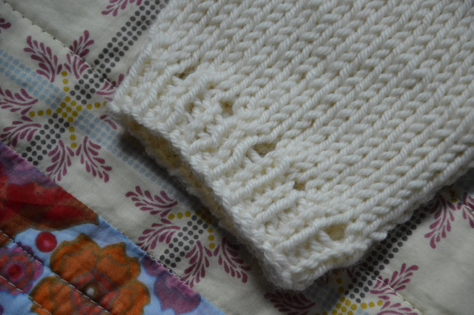 ocd: obsessive crafting disorder: a knitted baby shrug