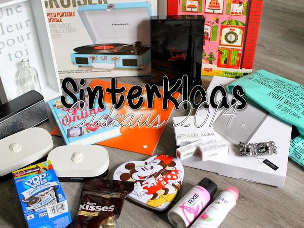 Sinterklaas Cadeaus 2014.