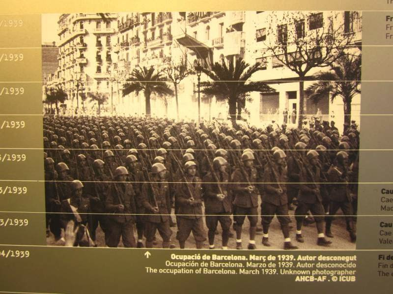 Occupation of Barcelona during the Spanish Civil war