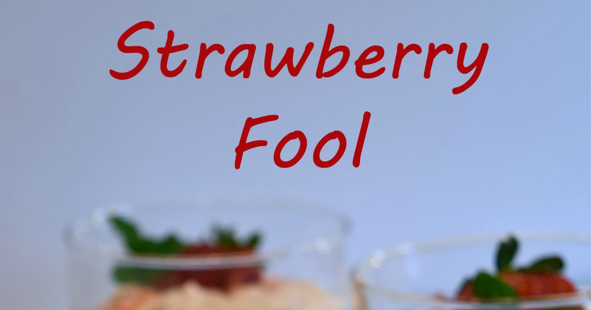 A Spoonful of Thyme: Strawberry Fool, Blogger CLUE