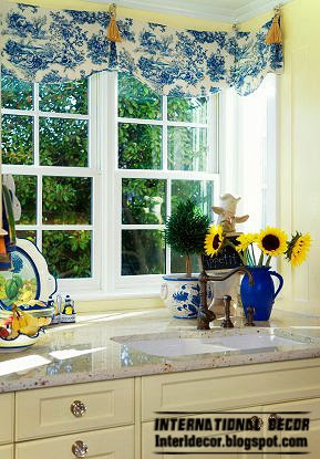 Provence style interior window design