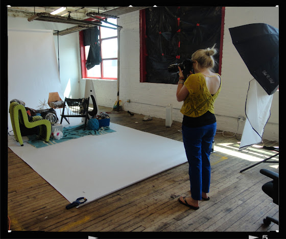 BEHIND THE SCENES…DESIGN BUREAU cover shoot photographer Heather Talbert