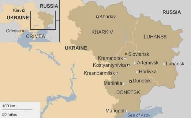 Fighting Escalates In East Ukraine, Killing 4 And 40 Wounded.