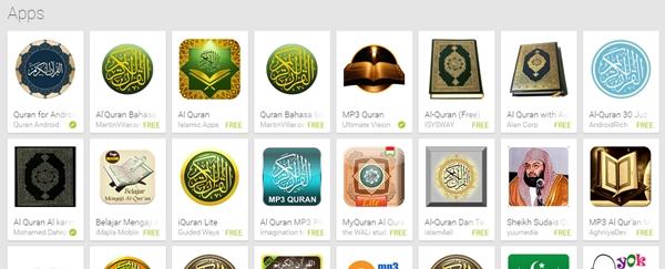 Aplikasi Al-Quran Terbaik (Android)
