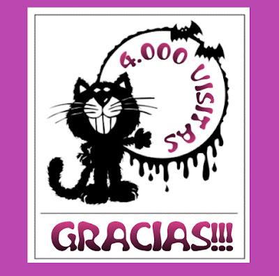 Felicitación 4000 visitas