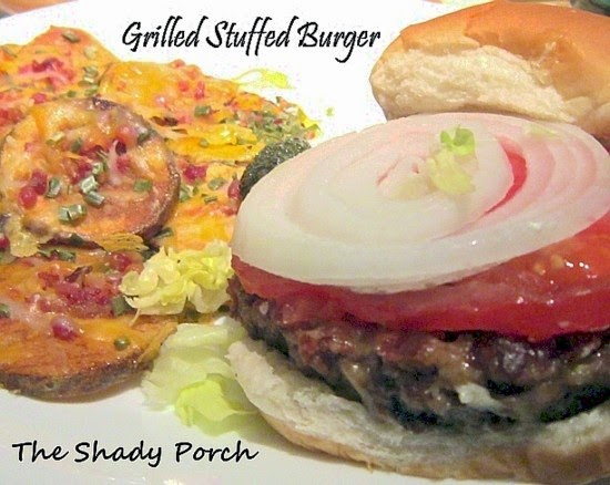 Grilled Stuffed Burgers