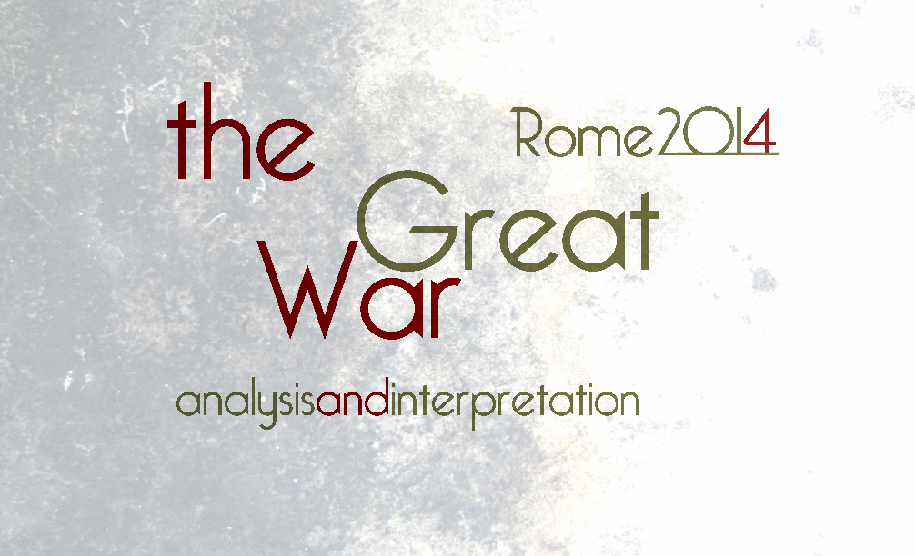 The Great War Rome 2014