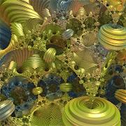 画像は、こちら お気に入りの一枚とパラメータを添付します。 Mandelbulb3Dv18{
