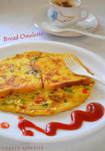 Bread Omelet / Healthy Breakfast Menu / step by step: