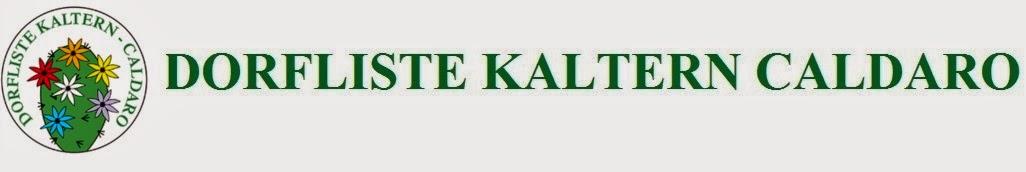 DORFLISTE KALTERN CALDARO