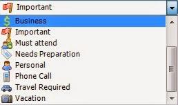 Desktop iCalendar Lite - Importância