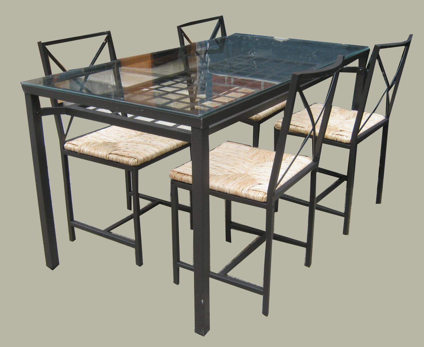 uhuru furniture collectibles ikea metal glass dining