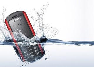 ponsel kena air