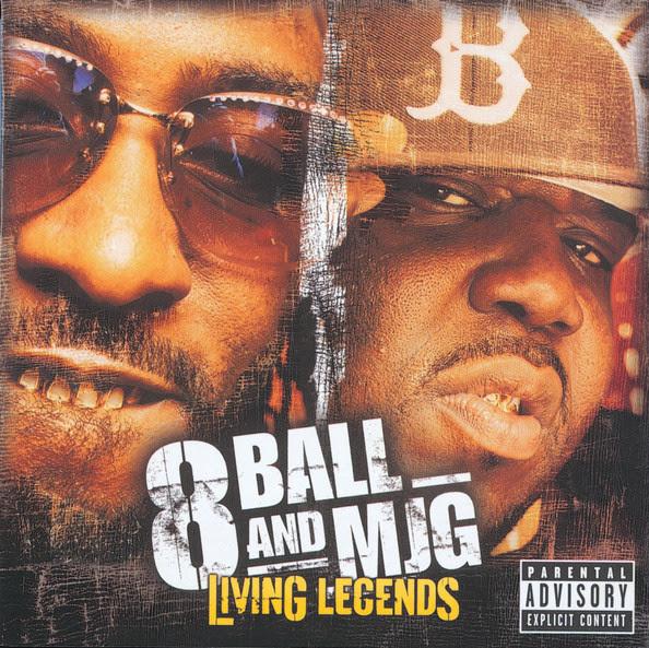 8Ball & MJG - Living Legends Cover