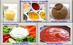vinaigrettes - Sauces - trempettes