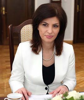Jozefina Topalli presidente dell'Albania ??