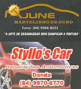June Martelinho de Ouro e Styllo's Car