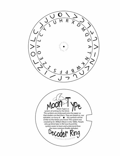Moon Type Decoder Ring