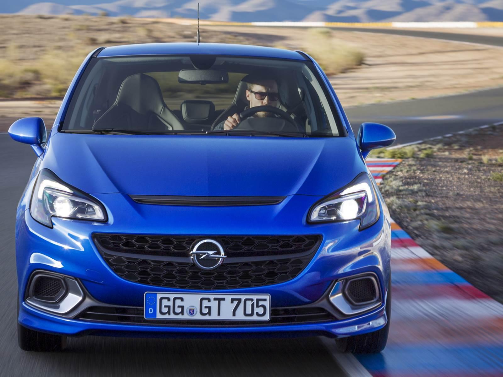 novo Opel Corsa OPC 2016