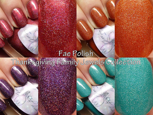 Fae Polish Thanksgiving Family Jewels Collection