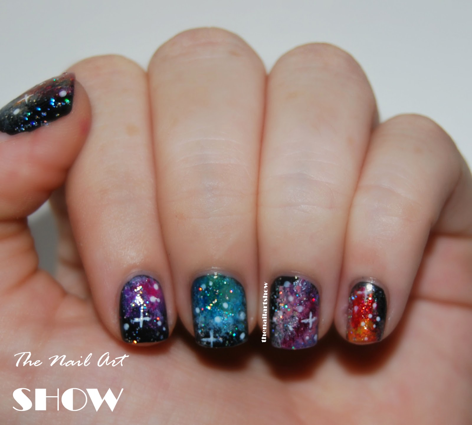 The Nail Art Show 31 Day Challenge Day 19 Galaxy You Can Paint