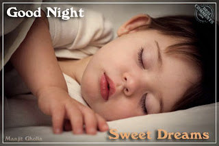 Good night hindi sms in 140 words