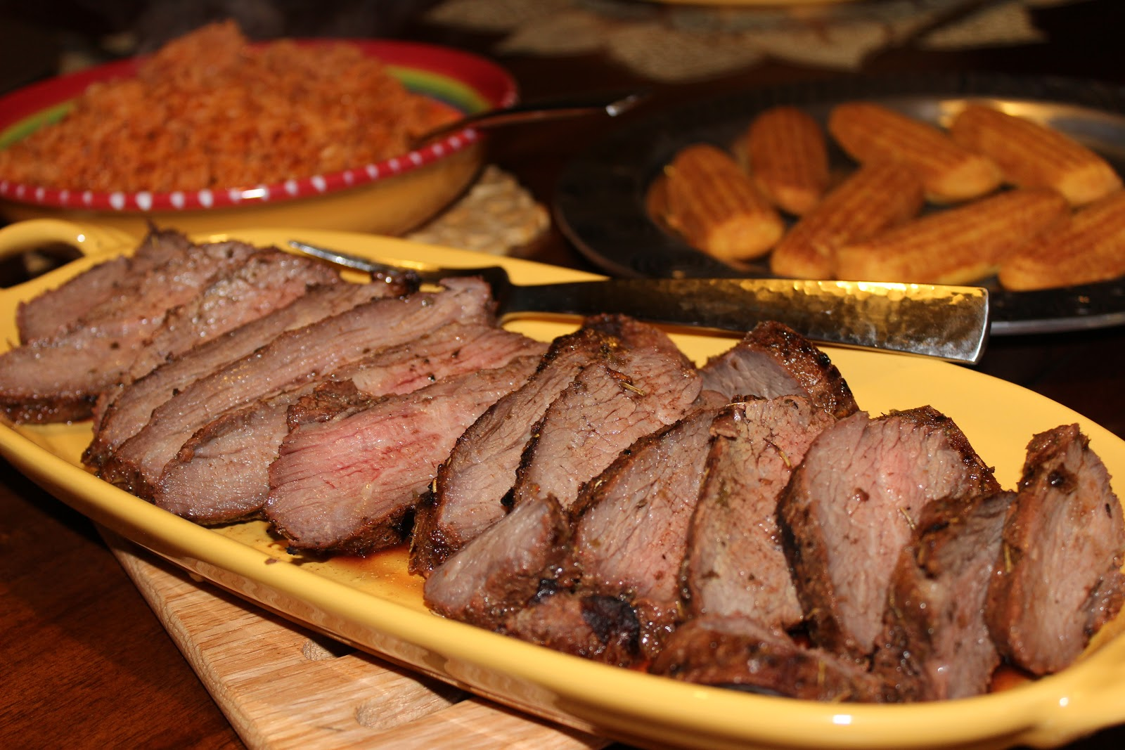 The Cookbook Project: Santa Maria Style Tri Tip