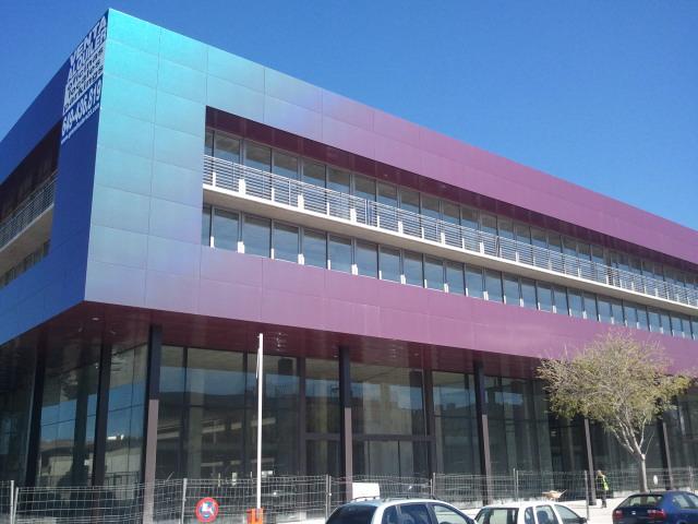 Humiclima instalaciones de humiclima en edificio de for Blau hotels oficinas centrales