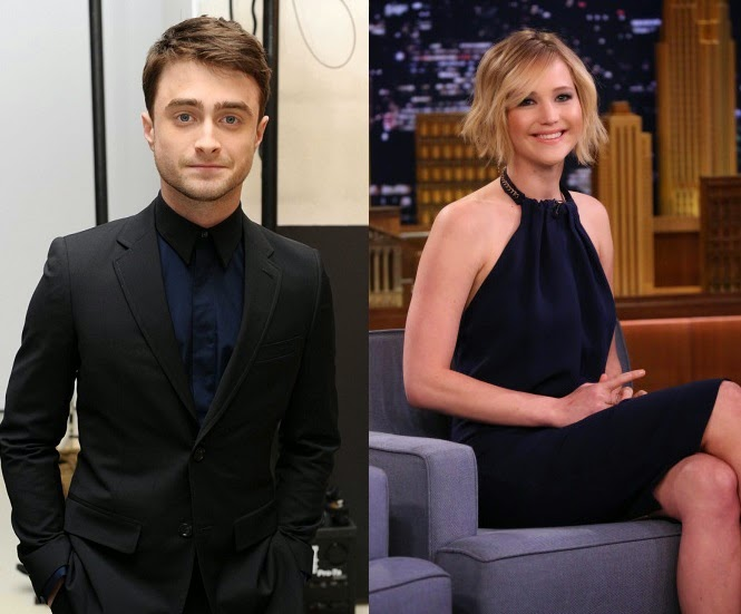 Daniel Radcliffe Jennifer Lawrence