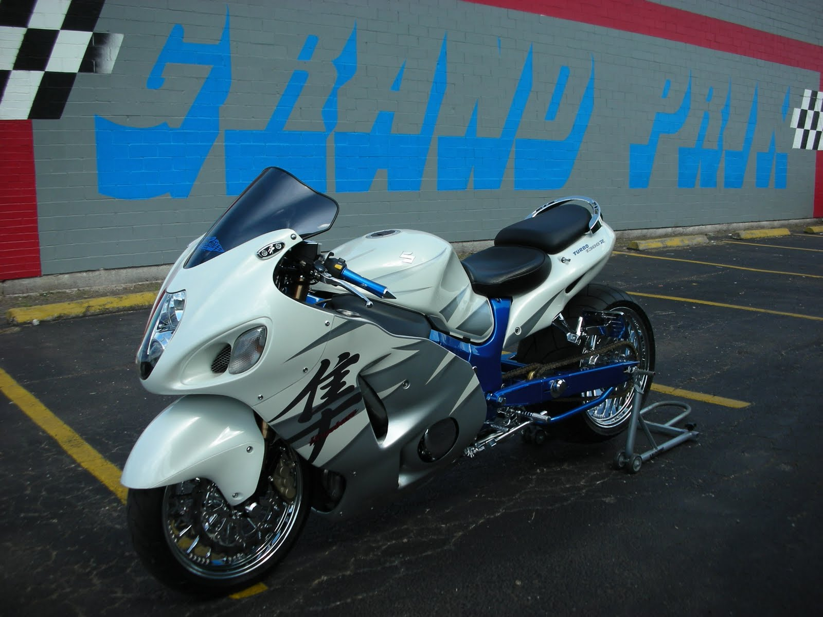 Bikes World Suzuki Hayabusa Turbo