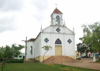 Igreja São Sebastião em Cristalina Goiás
