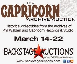 Capricorn Archive Auction March 2015