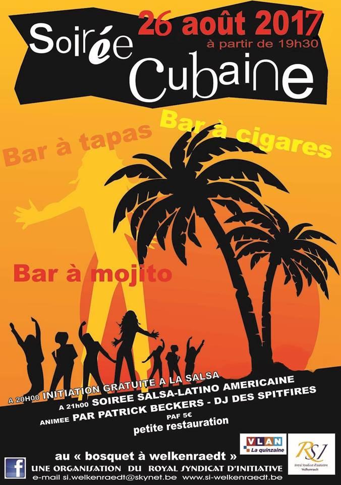 Soirée cubaine le 26 août 2017