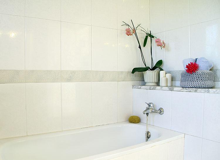 Baño Sencillo Para La Suerte:espacioso así que es de agradecer ya que solo es un baño para dos