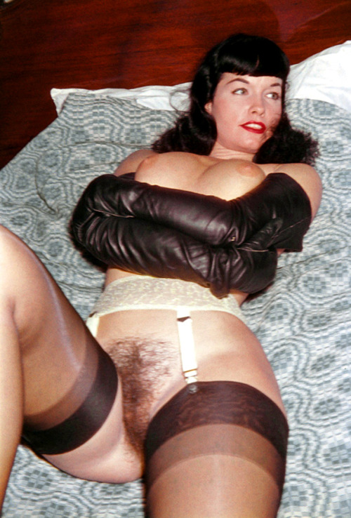 Rarely Published Pics of Bettie Page Vintage