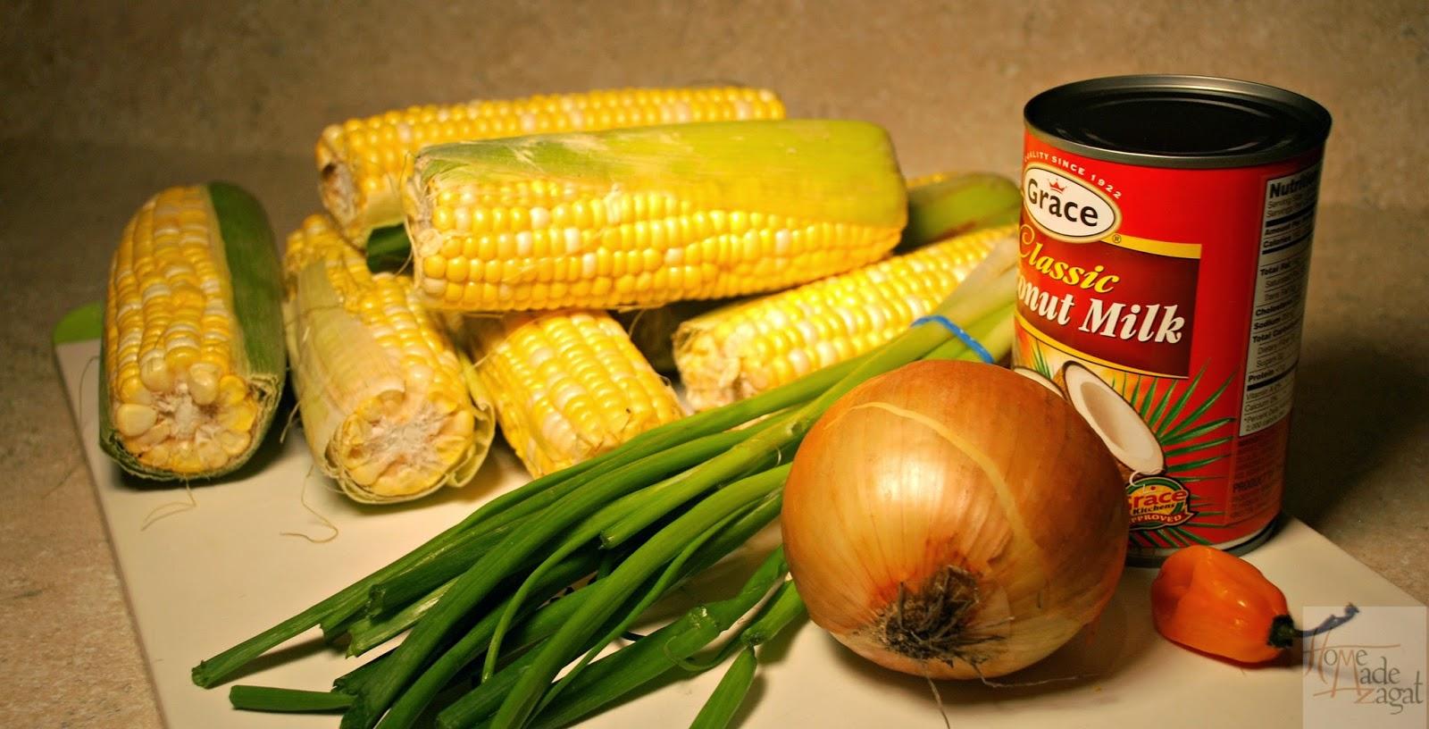 Trinidad Boiled Corn