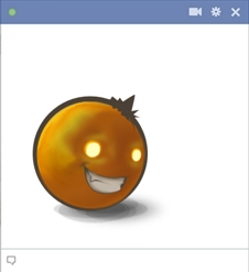 Psycho Emoticon For Facebook