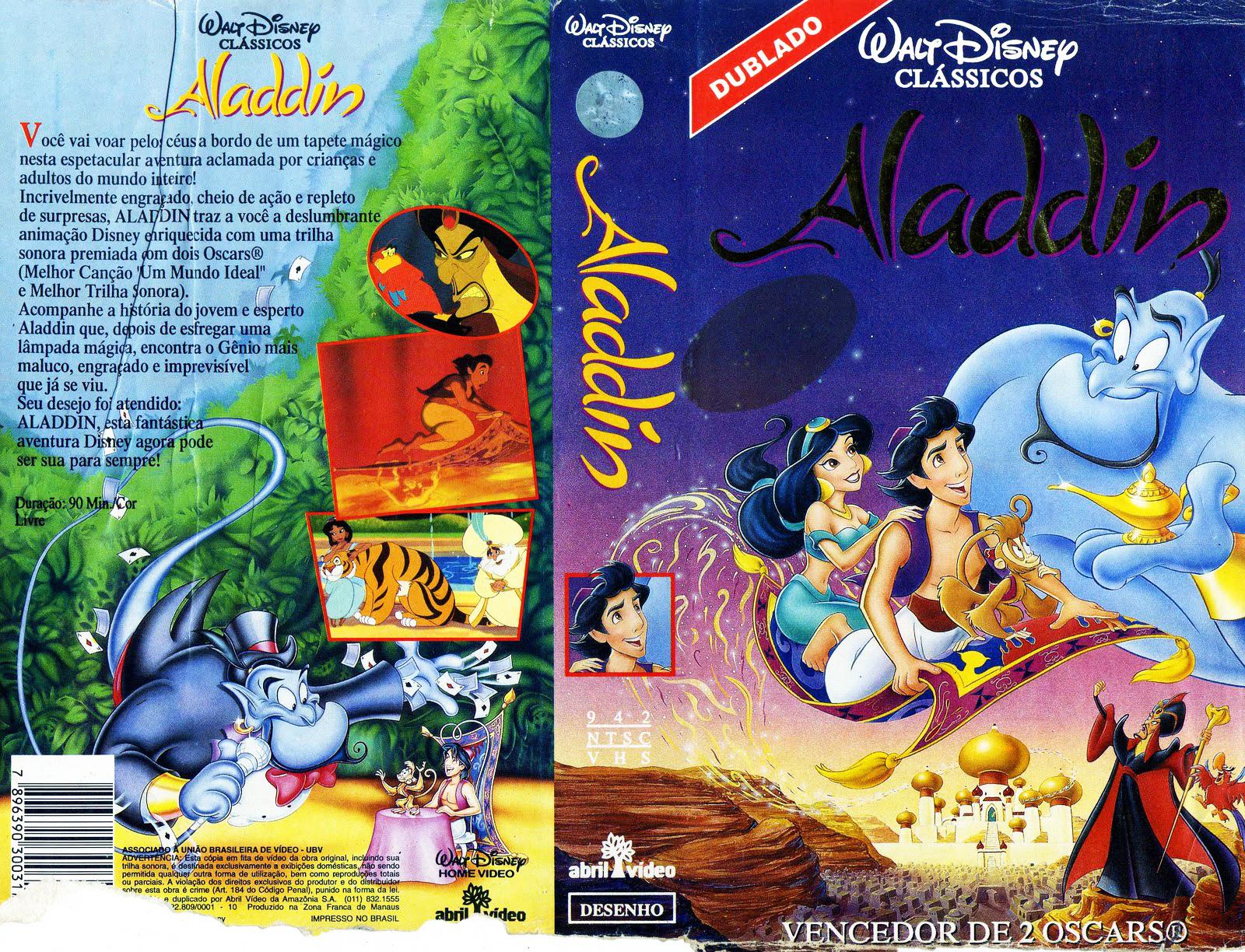 Aladino – Aladdin PT-PT Aladdin+1992+cover